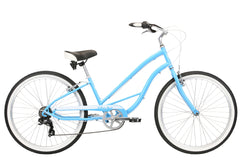 Del Sol Cantina 7 Speed Ladies Cruiser Sky Blue