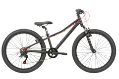 2020 Haro FL 24 Kids Mountain Bike Matte Black / Red