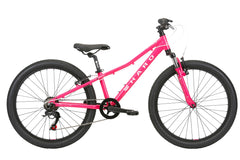 2020 Haro FL 24 Kids Mountain Bike Magenta / White