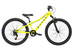 2020 Haro FL 24 Kids Mountain Bike Matte Neon Yellow / Black