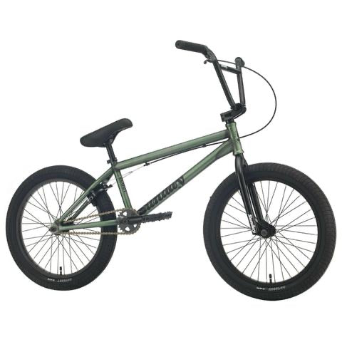 "2021 Sunday Scout 20"" BMX Bike Matte Trans Frost Green"