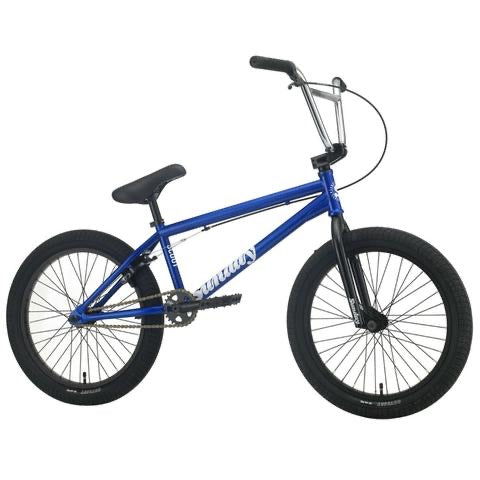 "2021 Sunday Scout 20"" BMX Bike Gloss Candy Blue"