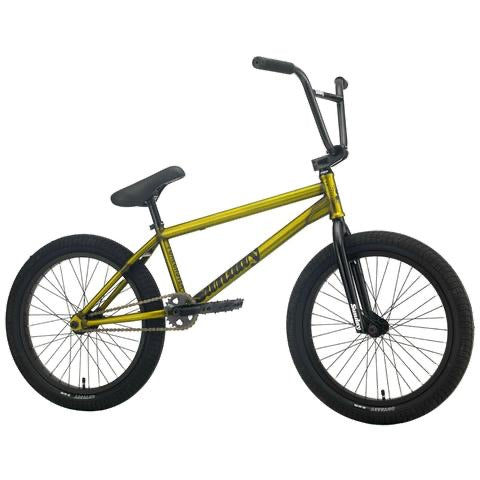 "2021 Sunday Forecaster Silva FC 20"" BMX Bike Matte Trans Gold"