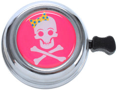 Skye Swell Girly Skull Beach Cruiser Bicycle Bike Bell Pink