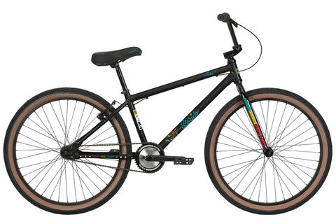 "2020 Haro Slo-Ride 29"" BMX Bike Gloss Black"