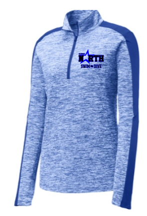 MEN'S OR WOMEN'S 1/4 ZIP PERFORMANCE ZIP