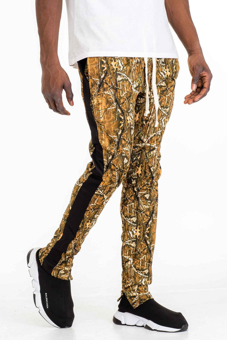 Hunted Camo Track Pants-Black Pants Hunted Camo Track Pants-Black - Divinity-BoutiquePants