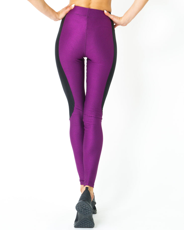High Waist Contrast Yoga Workout Legging Women's Clothing High Waist Contrast Yoga Workout Legging - Divinity-BoutiqueWomen's Clothing