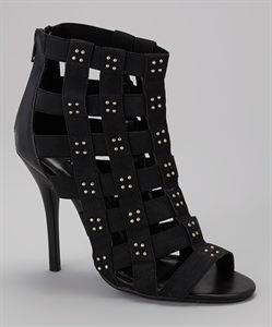 Lorry. Black Net Heel Footwear Lorry. Black Net Heel - Divinity-BoutiqueFootwear