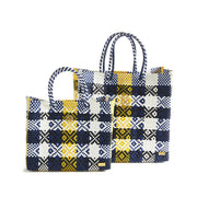 Small Yellow Blue Tote Bag Bags & Wallets Small Yellow Blue Tote Bag - Divinity-BoutiqueBags & Wallets