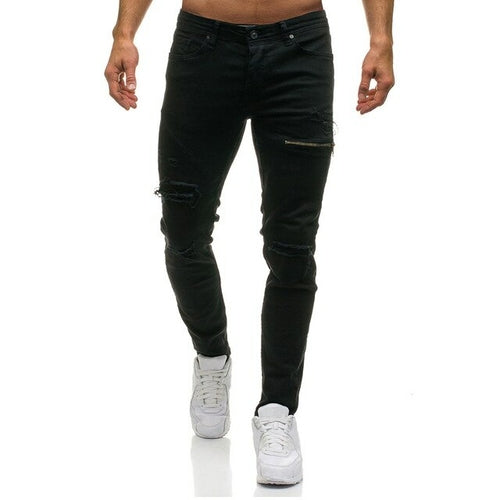 Mens Slim Pencil Pants Sexy Casual Pants Mens Slim Pencil Pants Sexy Casual - Divinity-BoutiquePants
