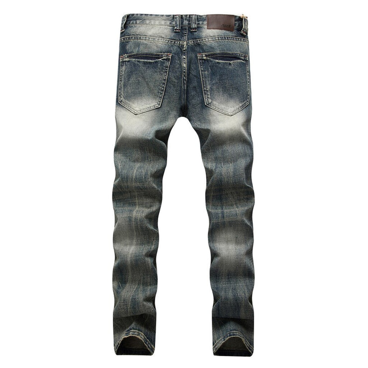 Homme Fitted Jeans Pants Homme Fitted Jeans - Divinity-BoutiquePants