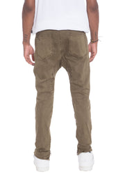 Stretch Denim-Khaki Pants Stretch Denim-Khaki - Divinity-BoutiquePants