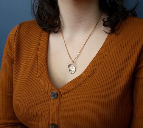 Build your own Birthstone Charm Necklace