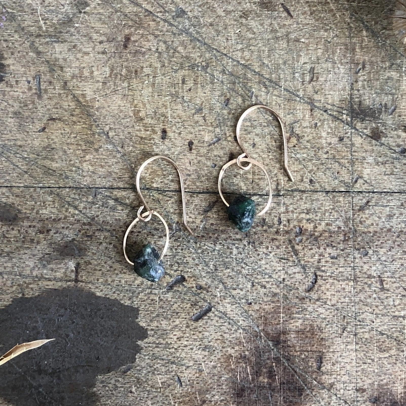 Emerald Birthstone Earrings