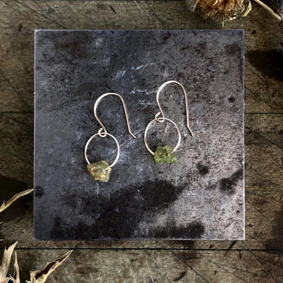 Peridot Birthstone Earrings