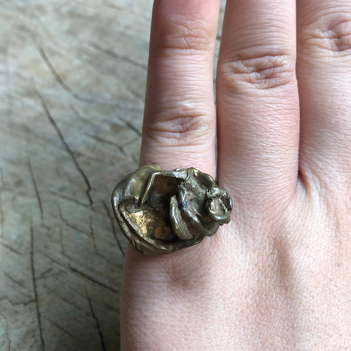 Bass Statement Ring