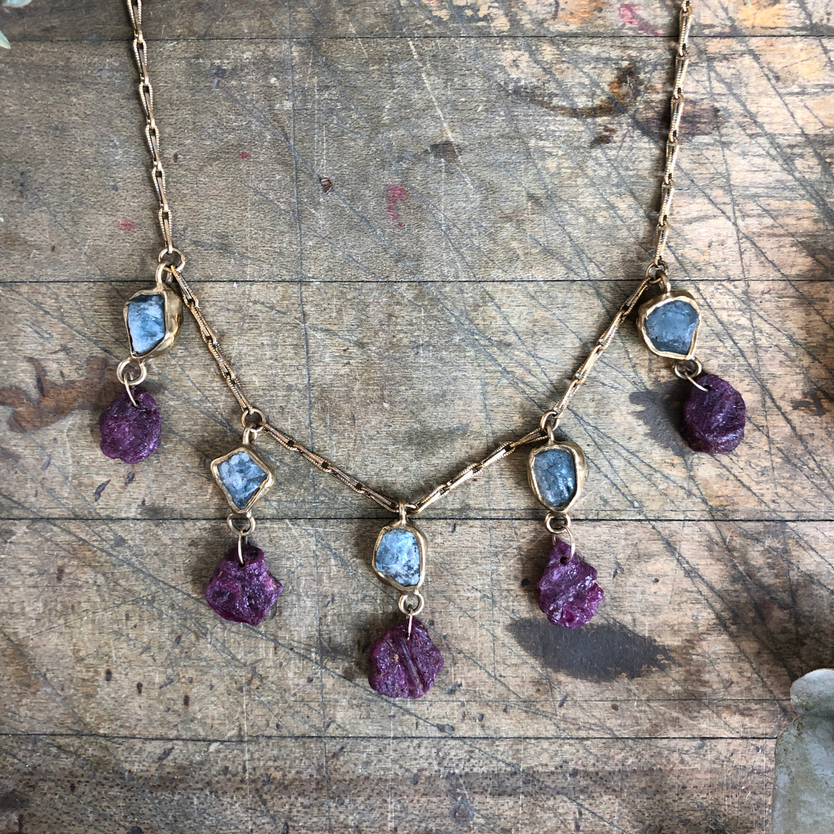 Anemone Cascade Necklace