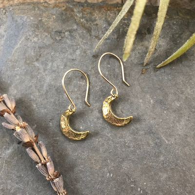 Crescent Moon Celestial Earrings