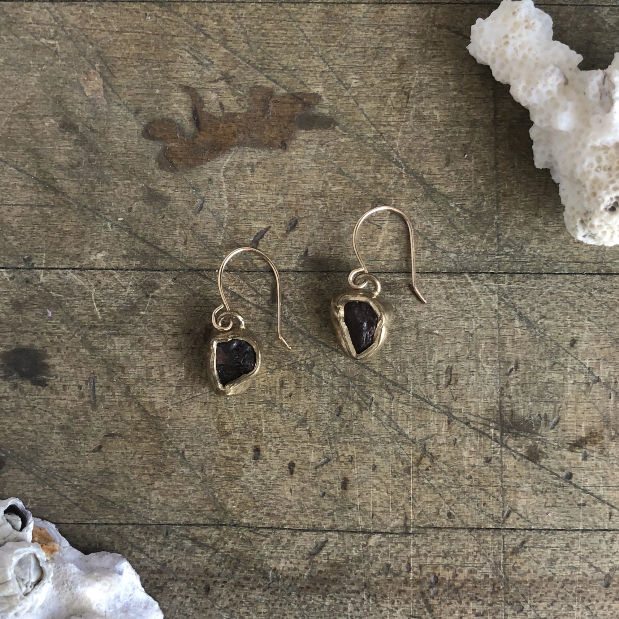 Dried Wildflower Solo Earrings