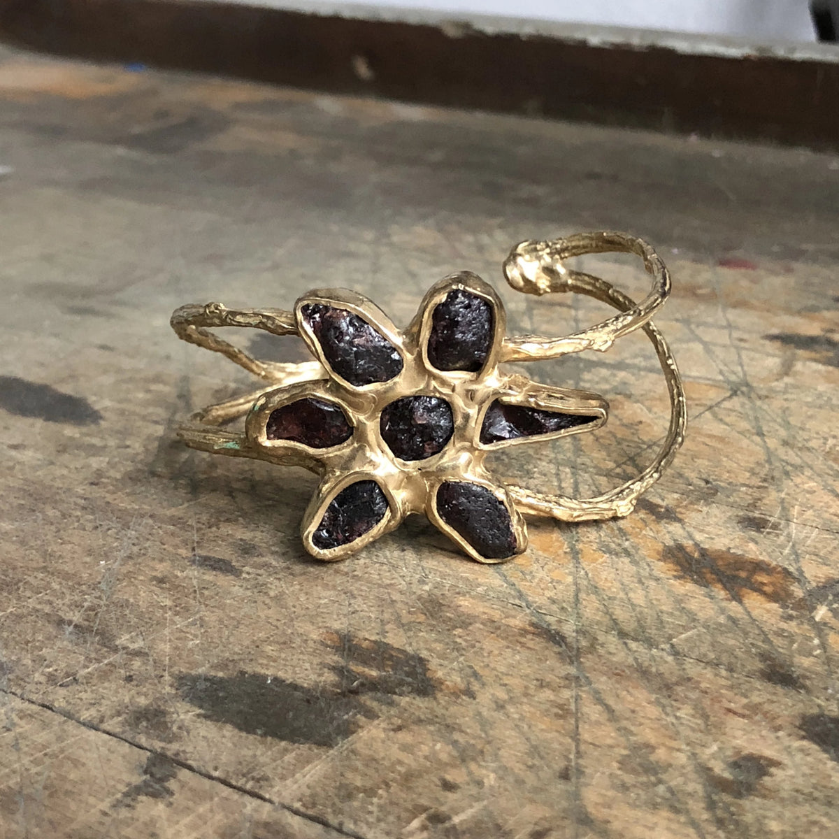 Dried Wildflower Cuff