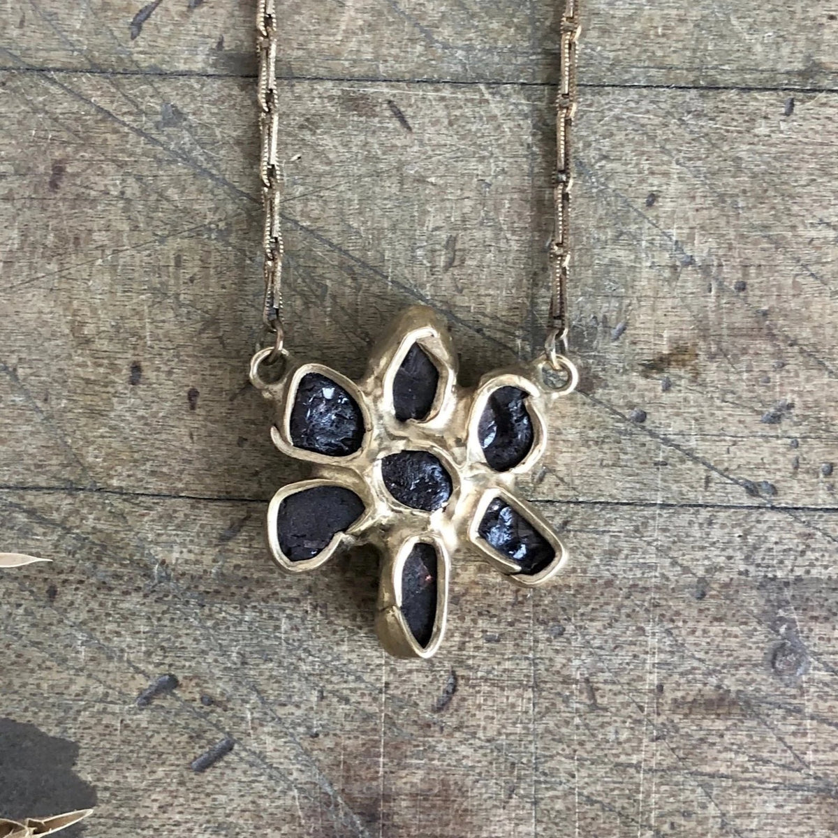 Dried Wildflower Solo Pendant