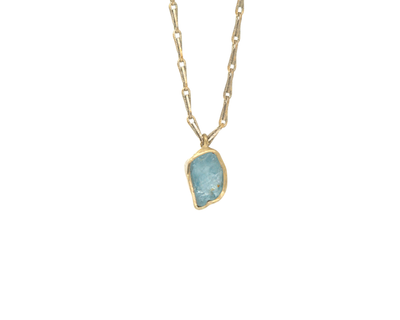 Guardian Pendant - Aquamarine