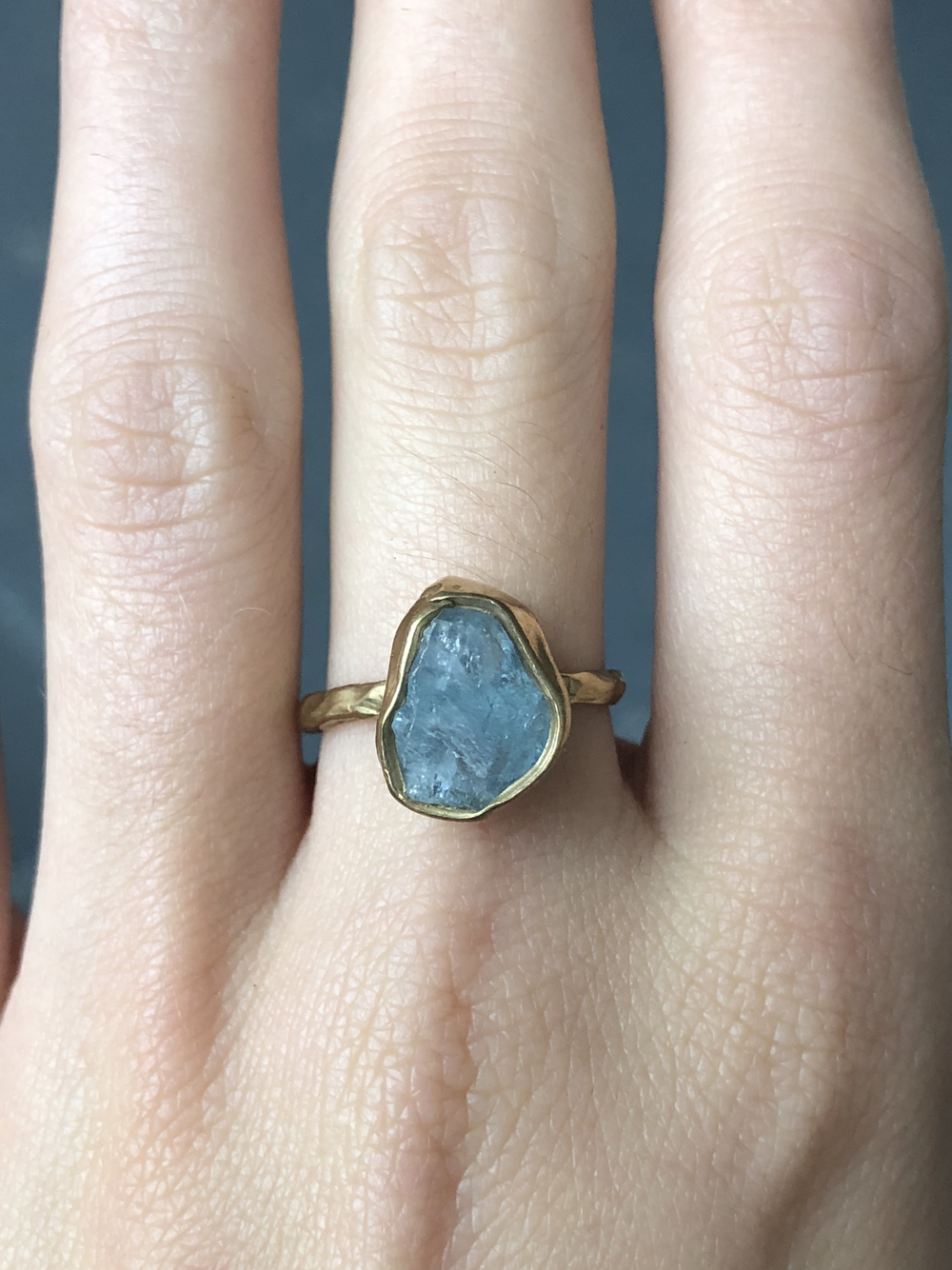 Guardian Ring - Aquamarine