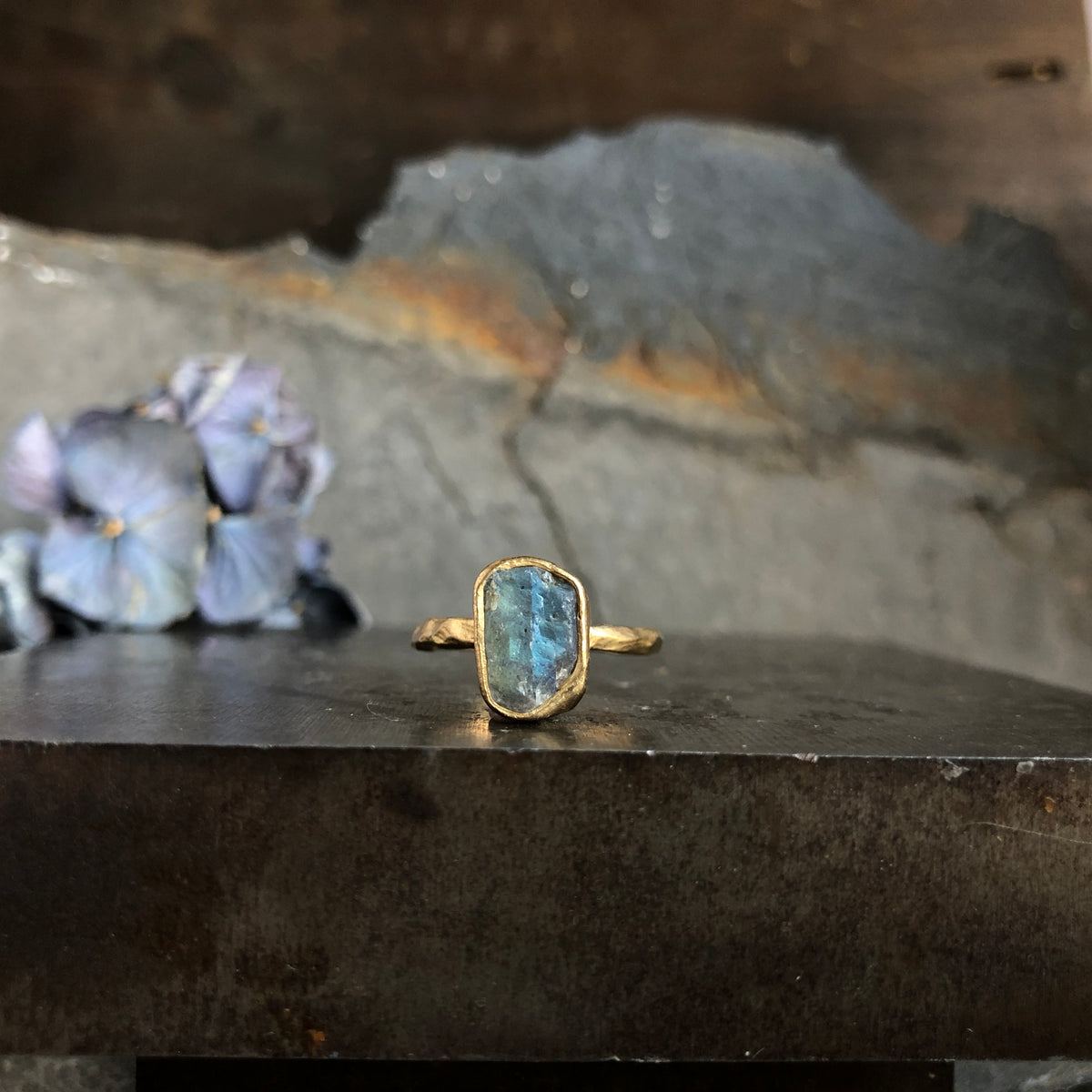 Guardian Ring - Labradorite