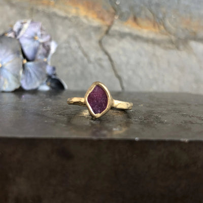 Guardian Ring - Ruby