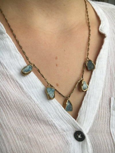 Immersion 5 Stone Necklace
