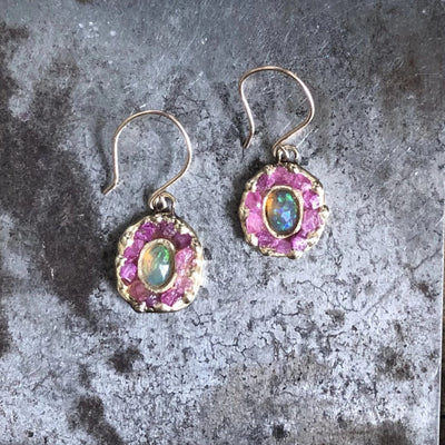Mini Looking Glass Earrings