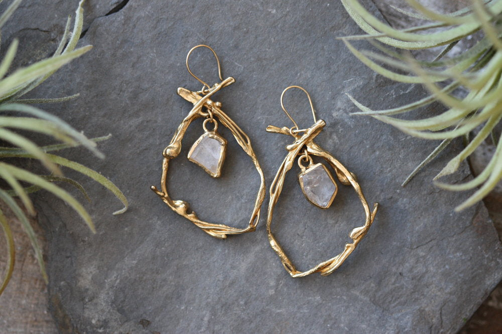 Morning Glory Earrings