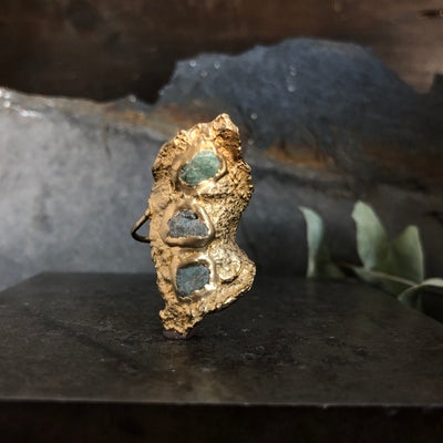 Mosaic Wilted Ring
