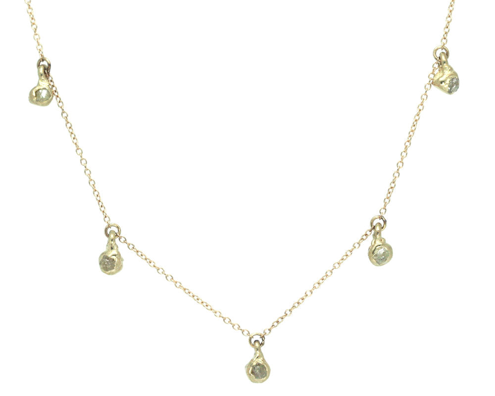 North Star Cascade Necklace