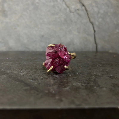 Ruby Crystal Ring