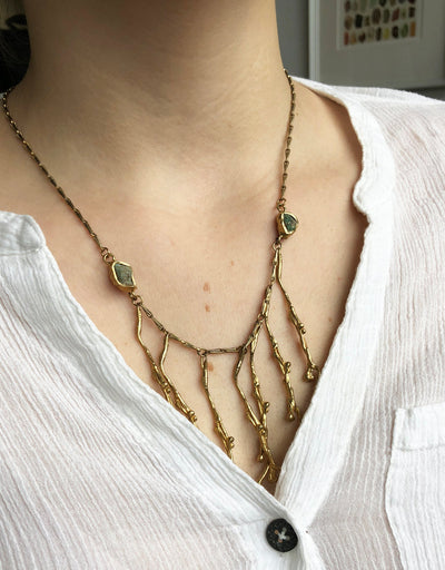Weeping Willow Cascade Necklace