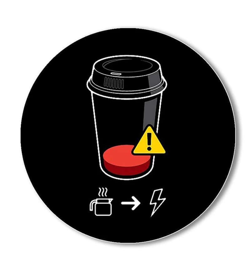 Low Battery Coffee