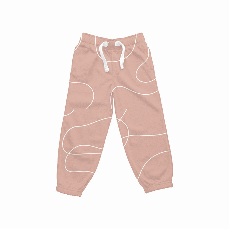 Abstract Women Joggers
