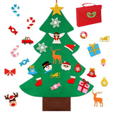 DIY 3D Felt Christmas Tree New Year Ornaments Artificial Xmas Tree