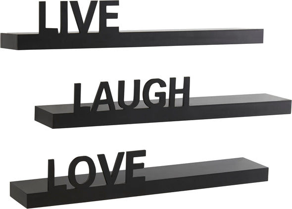 Raft de perete Live - Love - Laugh