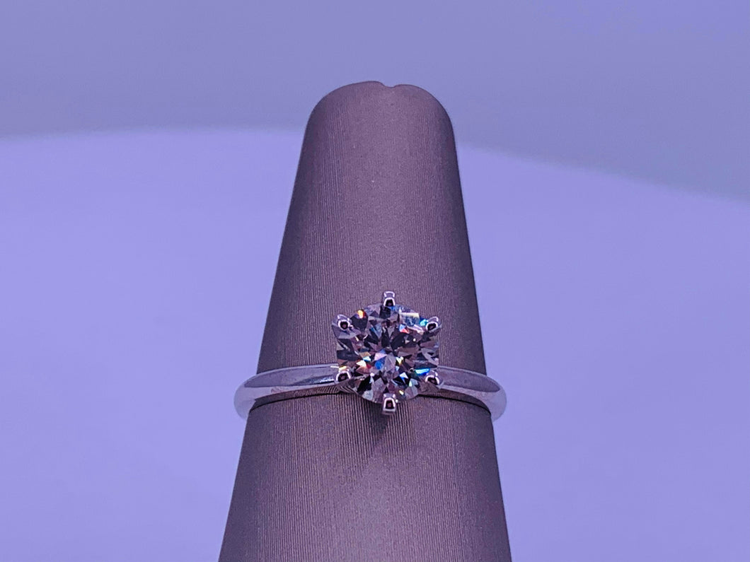 1.20 CTW Solitaire Diamond Engagement Ring