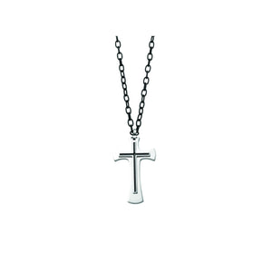 Steel Mens Jewelry Basics Cross Pendant, Danwerke Jewelers, AMS1001-ST