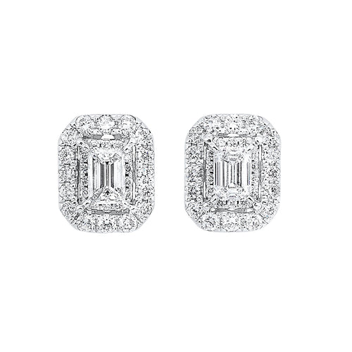 14KTW Earrings 1 Ctw, Danwerke Jewelers, ER10270-4WC