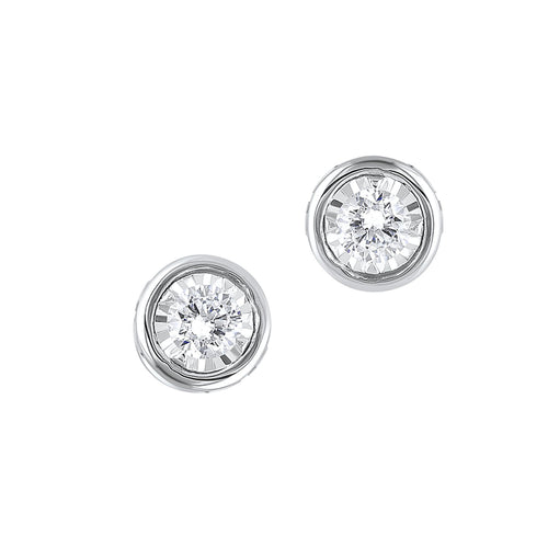 14KTW Earrings 1/4 Ctw, Danwerke Jewelers, ER10289-4WC
