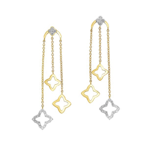 10KTY Earrings 1/3 Ctw, Danwerke Jewelers, ER10307-1YDSC