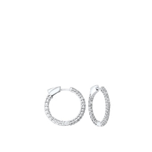 14K Round In-Out Earring 3ctw, Danwerke Jewelers, ER10314-4WF