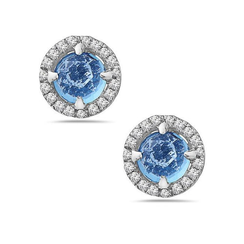 14K White Gold Earrings
