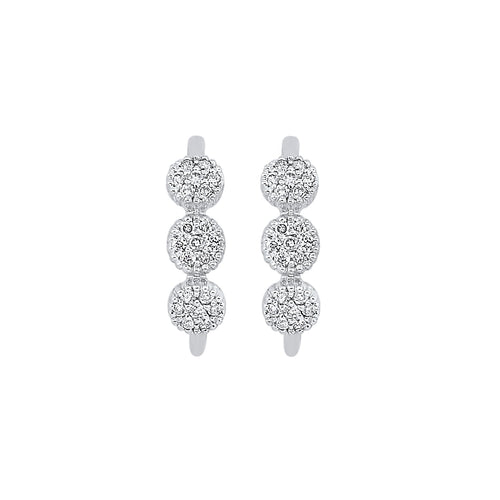 10KTW Earrings 1/8 Ctw, Danwerke Jewelers, ER27897-1WD