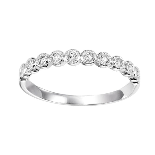 10K White Mixable Ring, Danwerke Jewelers, FR1044-1WD